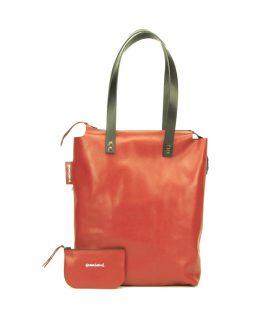 TVL010plus leder rood-zwart front